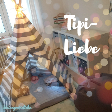 MADE WITH LOVE – Unser DIY-Kinder-Tipi-Traum