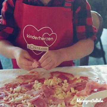 L'Osteria & kinderherzen: PizzaParty für den guten Zweck
