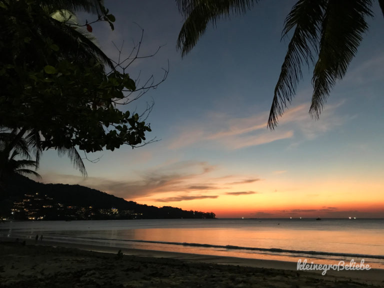 Kamala Beach Sunset - 1