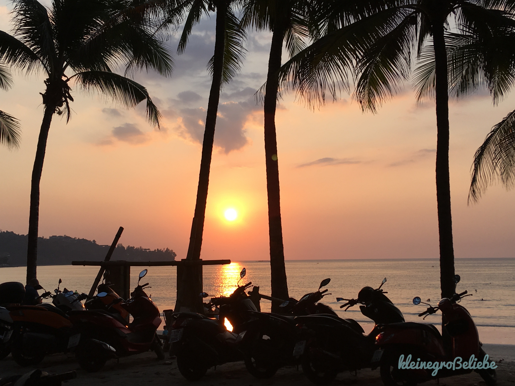 Kamala Beach - Sunset